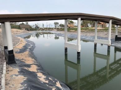 บ่อเก็บน้ำ ตลาดน้ำพัทยา